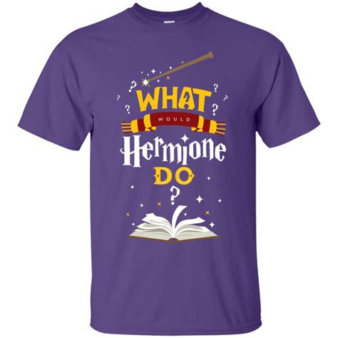 What Would Hermione Do Harry Potter Cotton T-Shirt – Teeholic