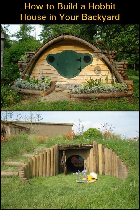 How to Build a Hobbit House in Your Backyard! (With images