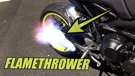 2018 Yamaha MT-09 TOCE Exhaust - Before/After/Revs/Flames