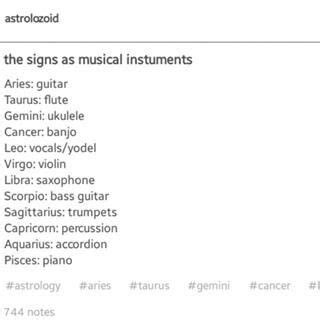 Out of all the instruments in the world they had to pair
