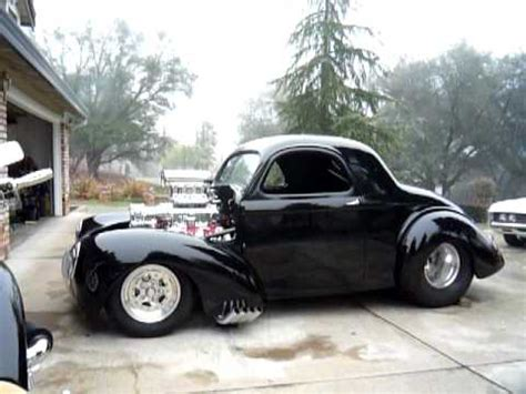 blown injected 41 willys - YouTube