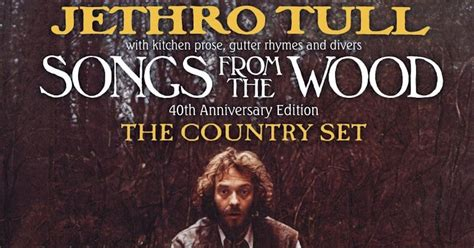 Jethro Tull Songs From the Wood 3-CD/2-DVD Due   Best
