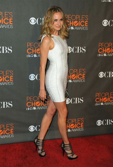 Photos of Diane Kruger on the 2010 People's Choice Awards