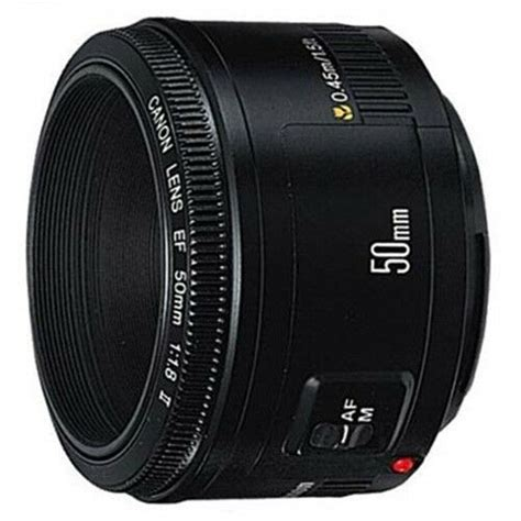 NEW Canon EF 50mm f/1
