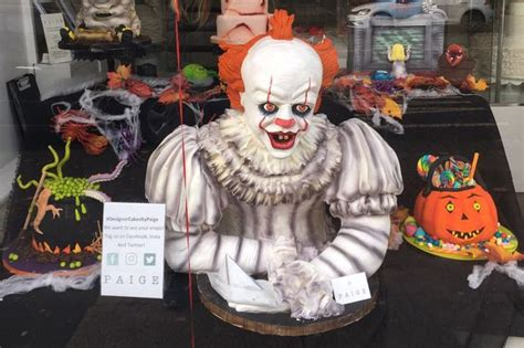 West end bakery creates giant IT clown cake - and it's as