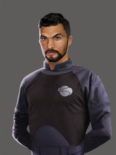 Starship Security Officer | OpenGameArt