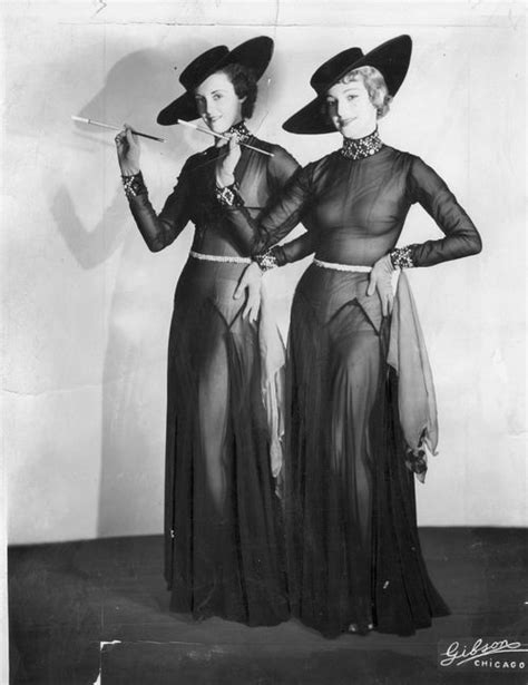 1930's Showgirls   Vintage outfits, 1930s fashion