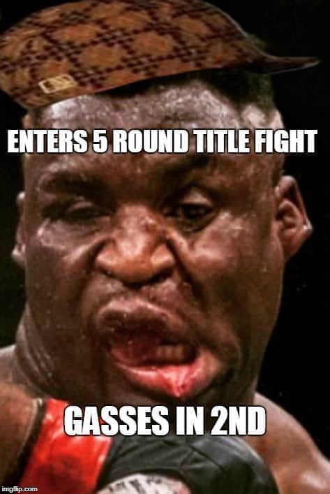 The Internet Just Turned on Francis Ngannou With Hurtful