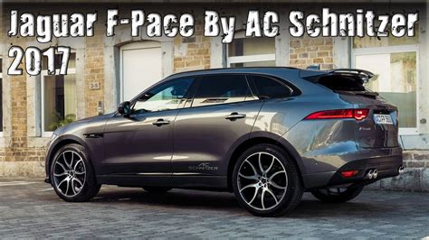 2017 Jaguar F-Pace Tuned By AC Schnitzer - YouTube